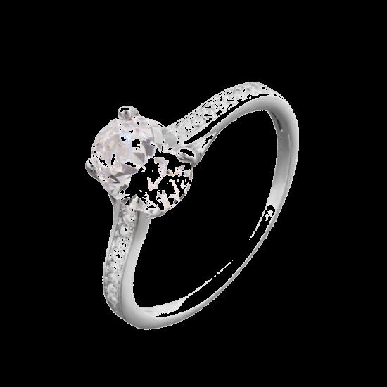 Кольцо серебряное  ЛК-0020