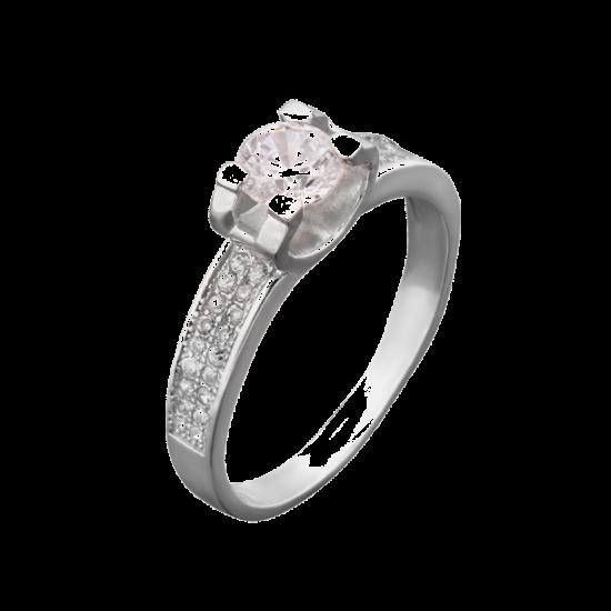 Серебряное кольцо  ЛК-0021