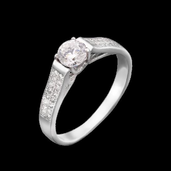 Серебряное кольцо  ЛК-0022