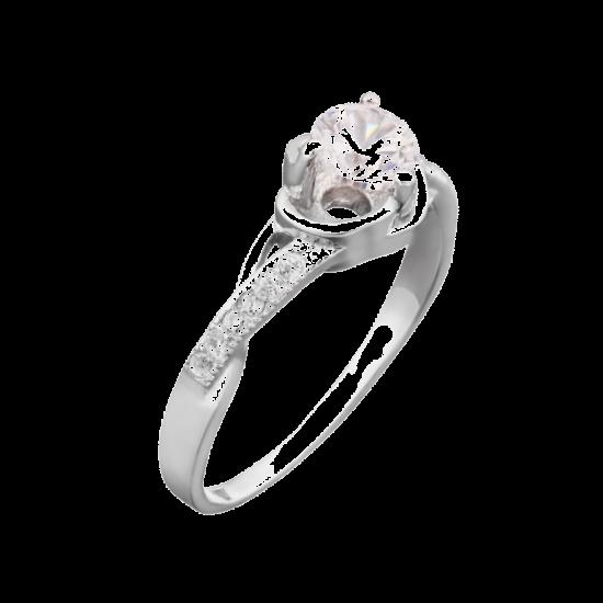 Серебряное кольцо ЛК-0024