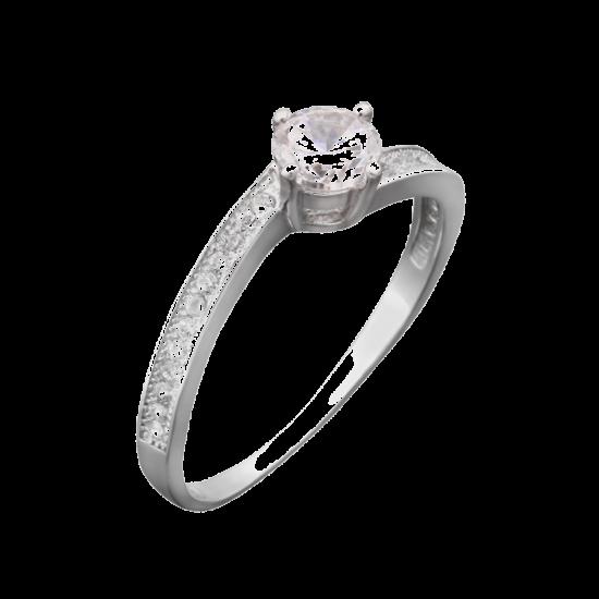 Серебряное кольцо ЛК-0025