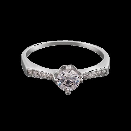 Кольцо серебряное ЛК-0027