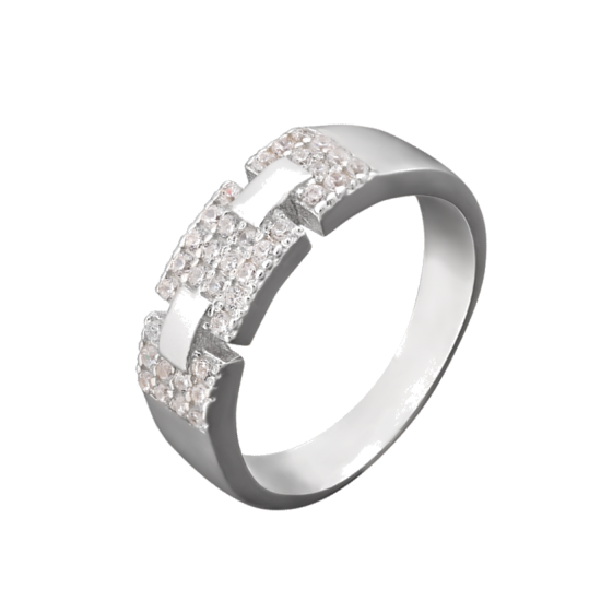 Серебряное кольцо ЛК-0038р