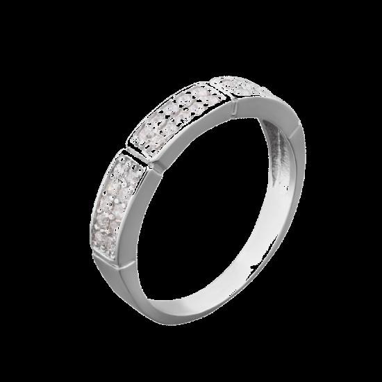 Серебряное кольцо  ЛК-0039