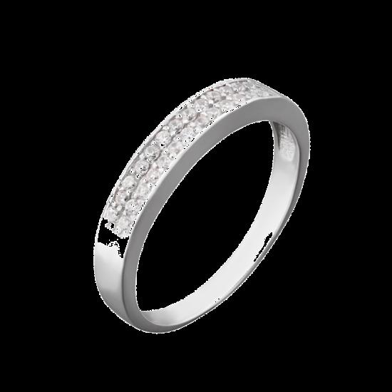 Серебряное кольцо  ЛК-0040