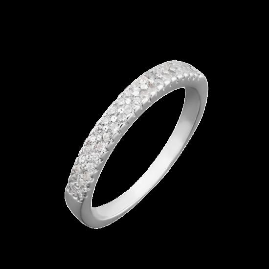 Серебряное кольцо  ЛК-0048