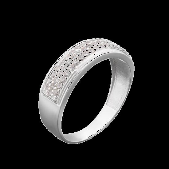 Серебряное кольцо ЛК-0052