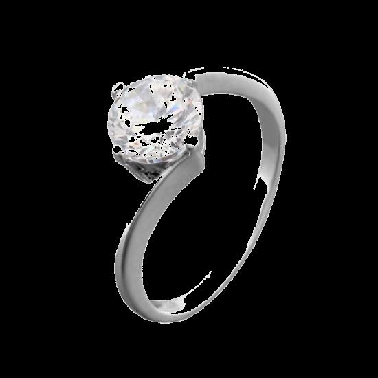 Кольцо серебряное  ЛК-0059