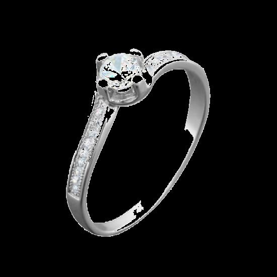 Кольцо серебряное  ЛК-0060