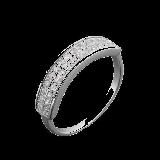 Серебряное кольцо ЛК-0066