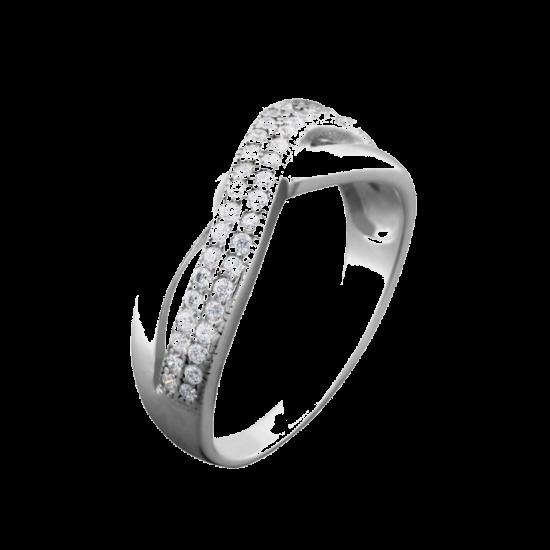 Серебряное кольцо  ЛК-0069