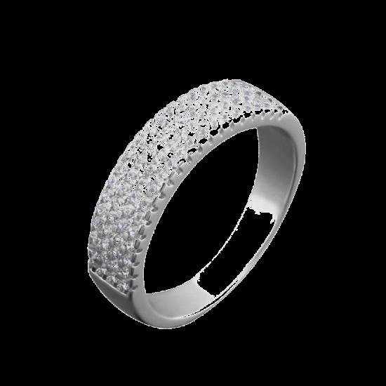 Серебряное кольцо ЛК-0076