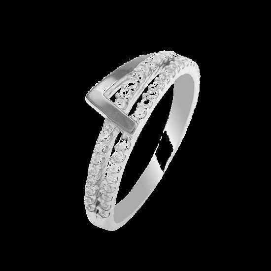 Серебряное кольцо ЛК-0080
