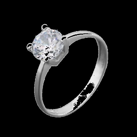 Серебряное кольцо  ЛК-0091