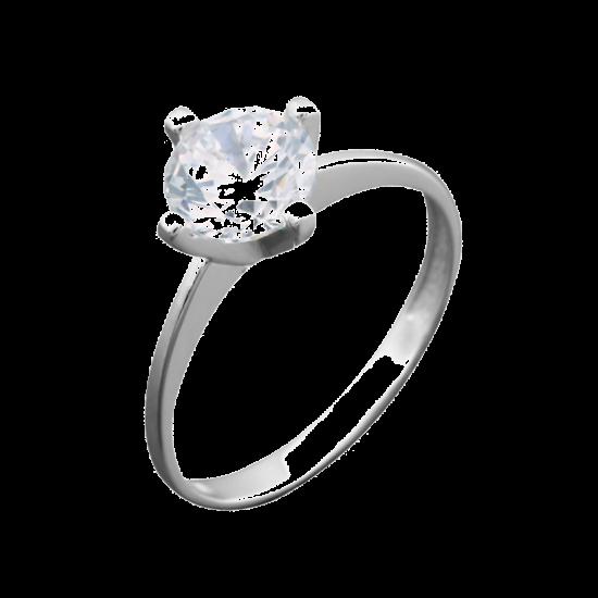 Серебряное кольцо  ЛК-0092