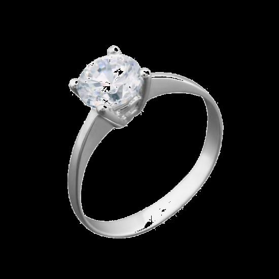 Серебряное кольцо  ЛК-0094