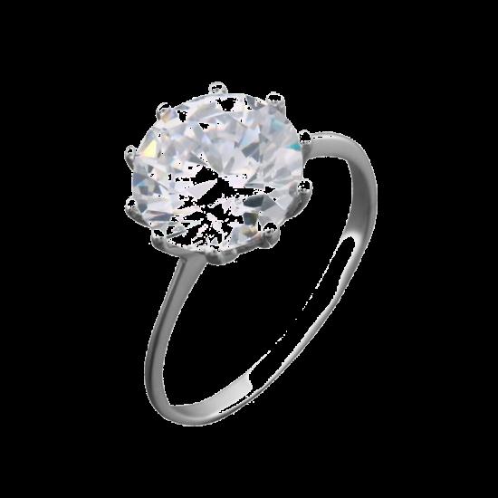 Кольцо серебряное  ЛК-0095