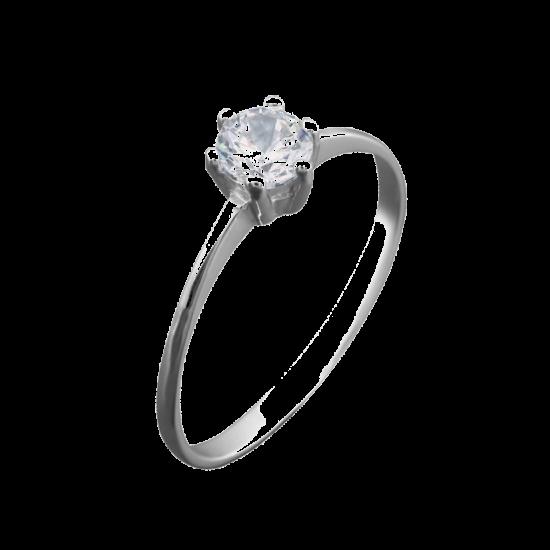 Серебряное кольцо  ЛК-0096