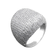 Серебряное кольцо  ЛК-0100