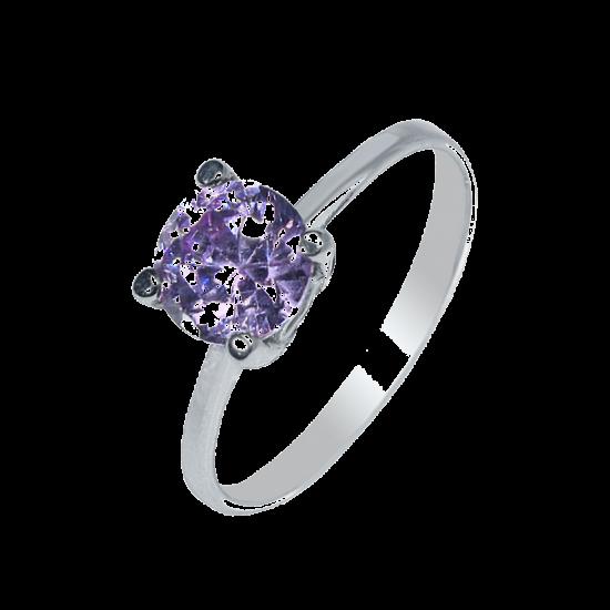 Серебряное кольцо  ЛК-0104