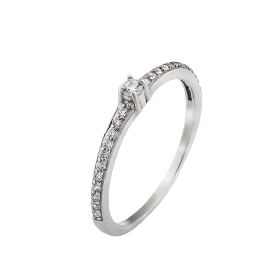 Серебряное кольцо  ЛК-0105