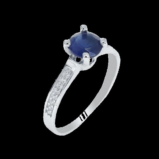 Кольцо серебряное  ЛК-0106
