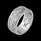 Серебряное кольцо Восточный Узор ЛК-0186