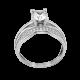 Серебряное кольцо двойное Вирджиния ЛК-0227
