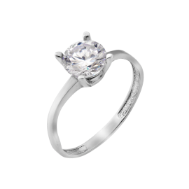 Серебряное кольцо Маска 2 в 1