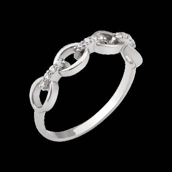 Серебряное кольцо ЛК-0307р