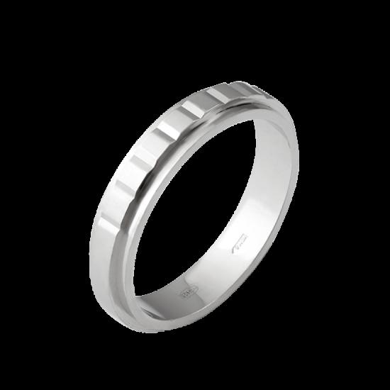 Обручальное кольцо серебреное  М-1219