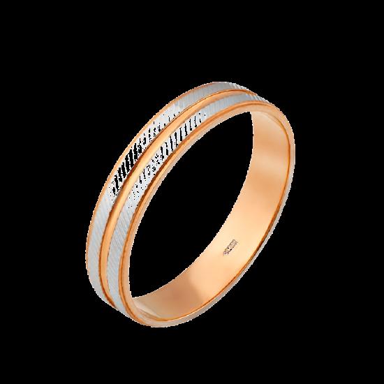 Обручальное кольцо золотое М-20855