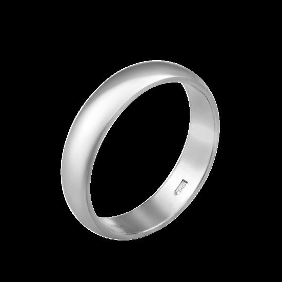 Обручальное кольцо серебряное ОС-0111