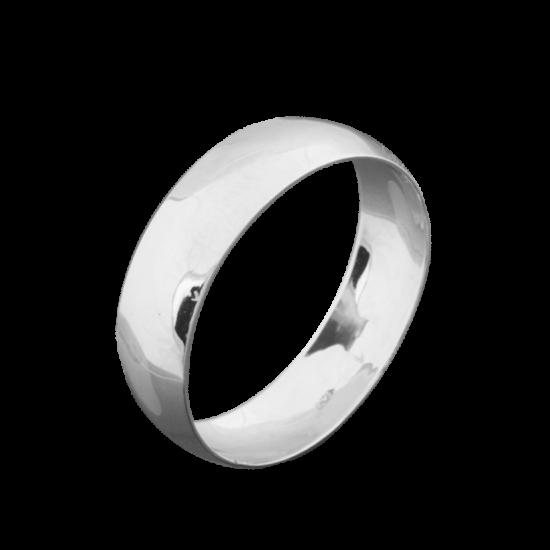 Обручальное кольцо серебряное ОС-1024