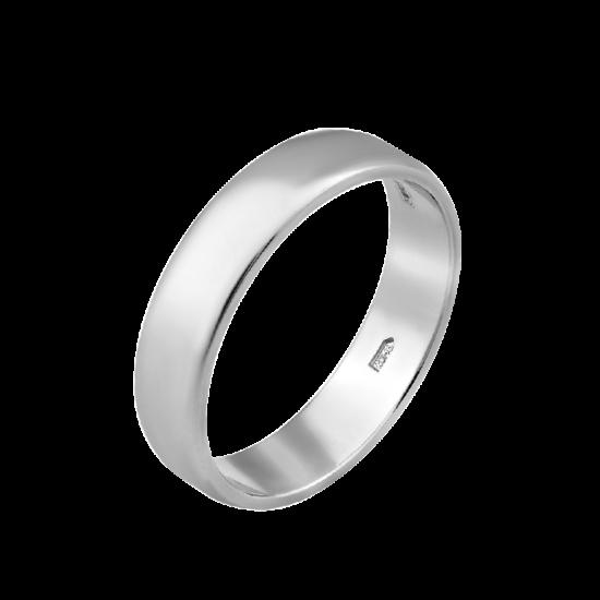 Обручальное кольцо серебреное  ОС-2414