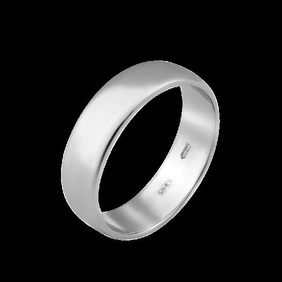 Обручальное серебреное кольцо  ОС-2512