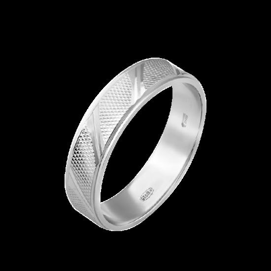 Кольцо обручальное серебренное  ОС-3523