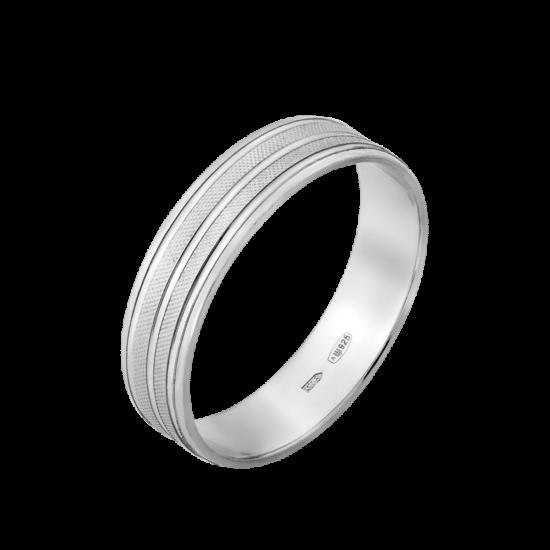 Обручальное кольцо серебреное  ОС-5009