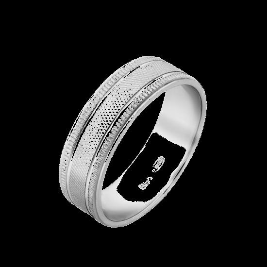 Обручальное кольцо серебряное ОС-5505