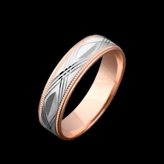 Обручальное кольцо золотое ОЗ-0003