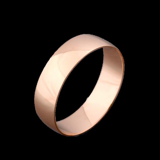 Обручальное кольцо золотое класическое ОЗ-1024