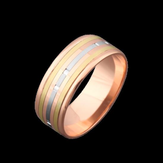 Обручальное кольцо золотое ОЗ-2100