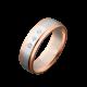 Обручальное кольцо золотое с камнями ОЗ-2103ф