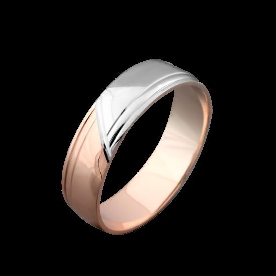 Обручальное кольцо золотое ОЗ-2104