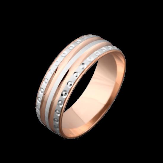 Обручальное кольцо золотое ОЗ-3014