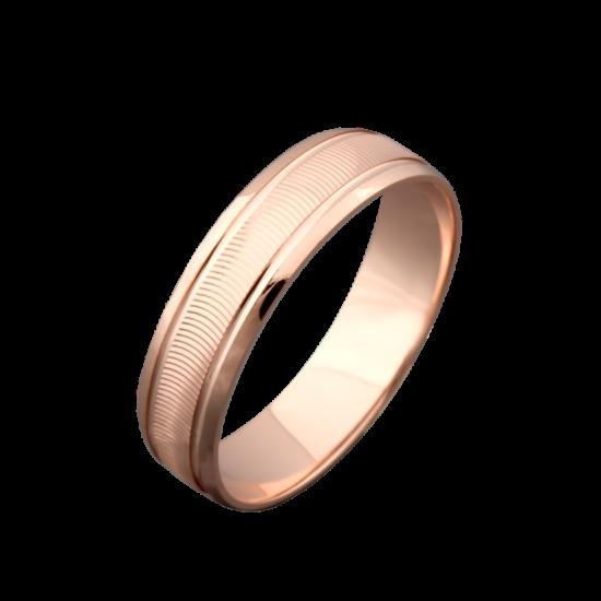 Обручальное кольцо золотое ОЗ-3021