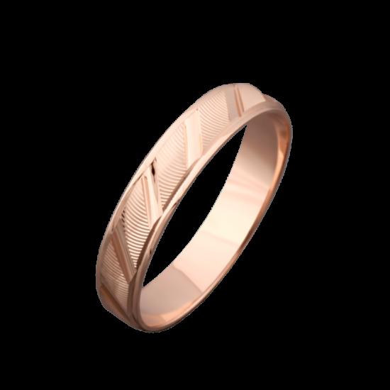 Обручальное кольцо золотое ОЗ-3022