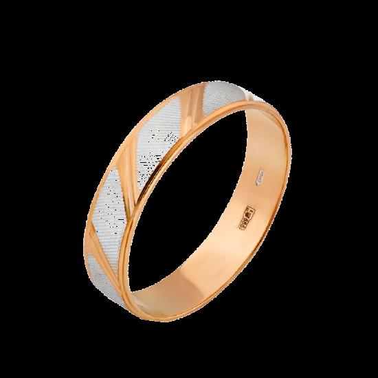 Обручальное кольцо золотое ОЗ-3523