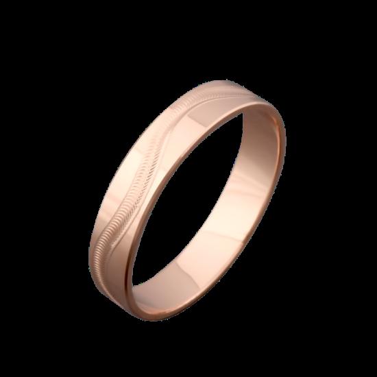 Обручальное кольцо золотое ОЗ-3525