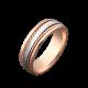 Обручальное кольцо золотое ОЗ-4011